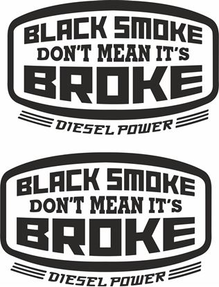 Picture of Diesel Power.. Decals / Stickers