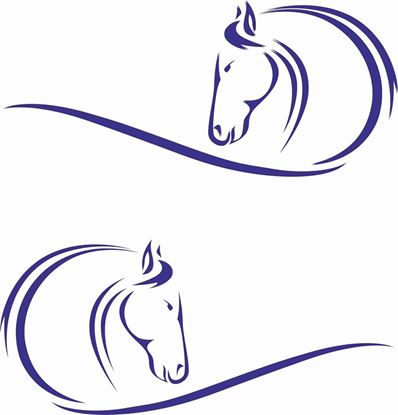 Picture of Horses Head  General panel Decals / Stickers