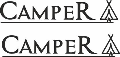 Picture of Camper Decals  / Stickers