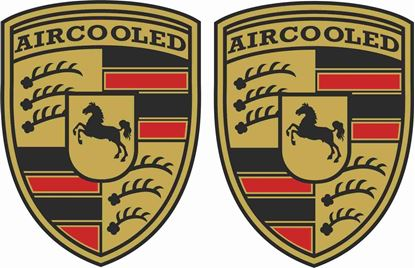 Picture of Air Cooled  general panel Decals /  Stickers