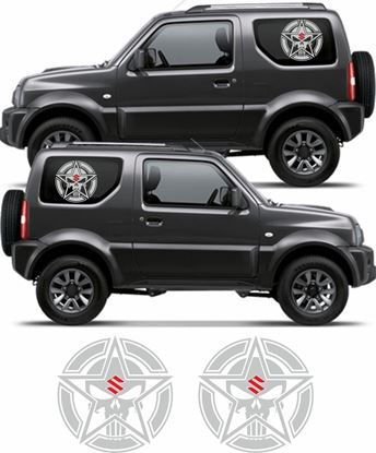 "Picture of Suzuki Jimny ""Punisher"" Decals / Stickers"