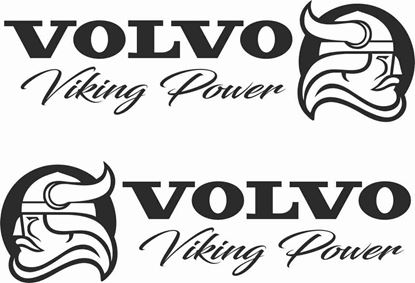 "Picture of Volvo  ""Volvo Viking Power"" panel  Stickers / Decals"