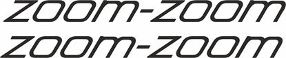 Picture of Mazda Zoom-Zoom  Decals / Stickers