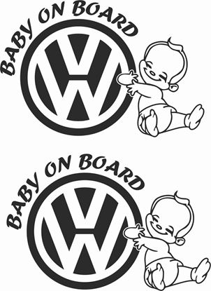 Picture of Baby on board  Decals / Stickers