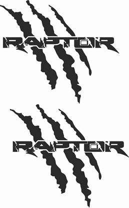 Picture of Ford F1-50 Raptor Decals / Stickers