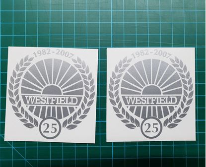 Picture of Westfield 25 1982 - 2007  Decals / Stickers