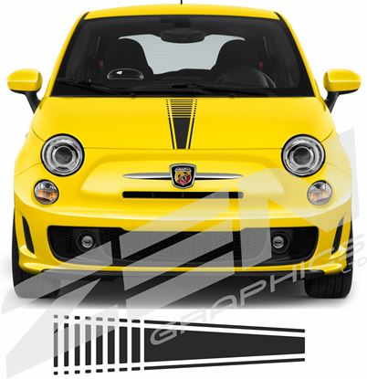 Picture of Fiat  500 / 595 Bonnet Stripe / Sticker