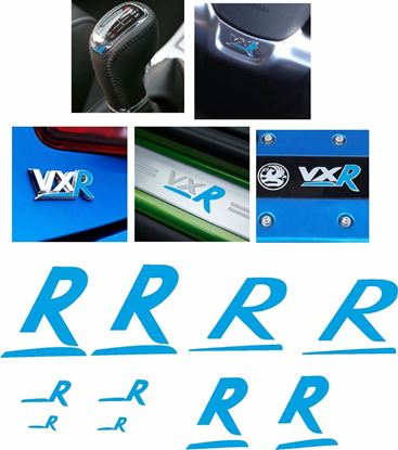 Picture of Vauxhall Astra H / Corsa VXR overlay Vinyl Decals / Stickers