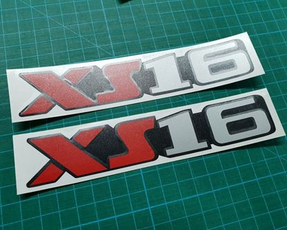 "Picture of Peugeot 106 XSi ""XS16""  Decals / Stickers"