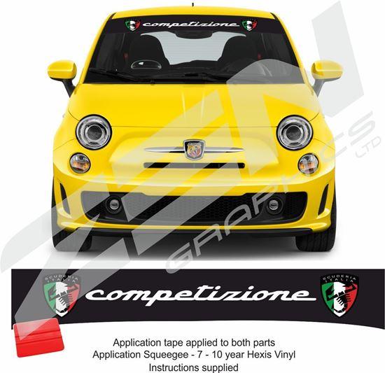 """Picture of """"Competizione Scuderia Italia"""" Sunstrip  / Sticker"""