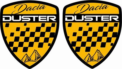 Picture of Dacia Duster Wing / General panel Decals / Stickers