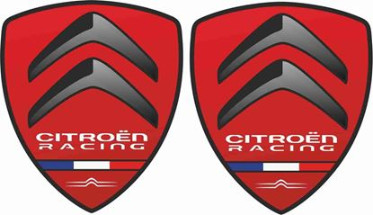 Picture of Citroen Racing Wing Decals / Stickers