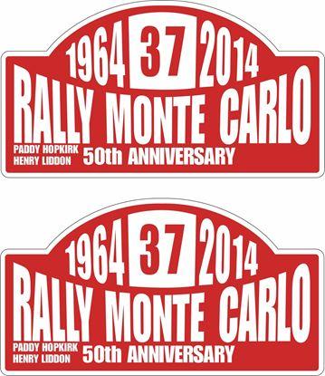 Picture of Mini Cooper Monte Carlo 50th Anniversary Decals / Stickers
