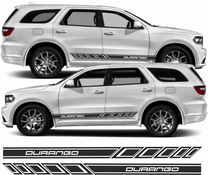 Picture of Dodge Durango side Stripes Decals / Stickers