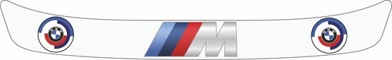 "Picture of BMW ""M Sport"" Helmet Visor Strip"