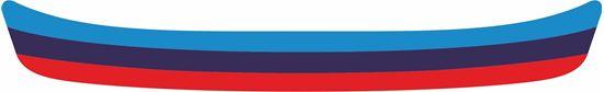 "Picture of BMW ""M Sport Tri colour"" Helmet Visor Strip"