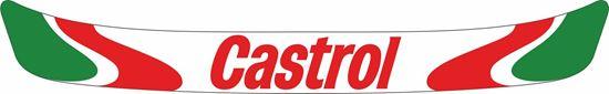 "Picture of ""Castrol"" Helmet Visor Strip"