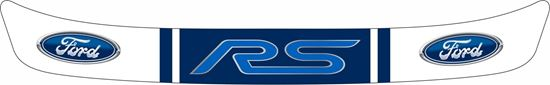 "Picture of ""Ford RS"" Helmet Visor Strip"