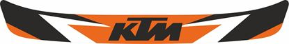"Picture of ""KTM"" Helmet Visor Strip"