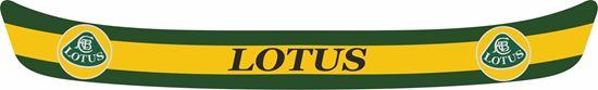 """Picture of """"Lotus"""" Helmet Visor Strip"""