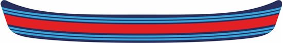 "Picture of ""Martini"" Helmet Visor Strip"