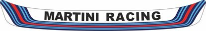 "Picture of ""Martini Racing"" Helmet Visor Strip"