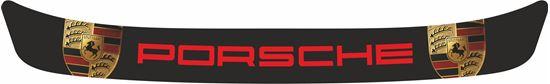 """Picture of """"Porsche"""" Helmet Visor Strip"""