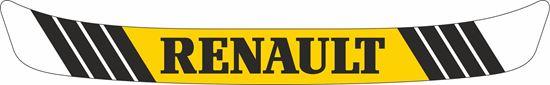 "Picture of ""Renault"" Helmet Visor Strip"