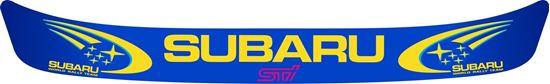 "Picture of ""Subaru STi"" Helmet Visor Strip"
