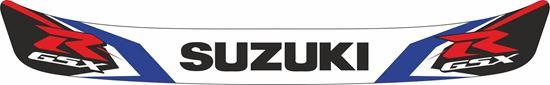 """Picture of """"Suzuki GSXR"""" Helmet Visor Strip"""