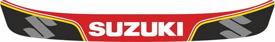 """Picture of """"Suzuki"""" Helmet Visor Strip"""