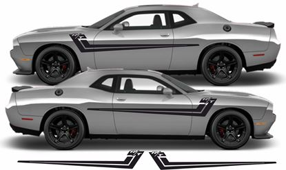 Picture of Dodge Challenger  2008 - 2019 side Stripes / Stickers