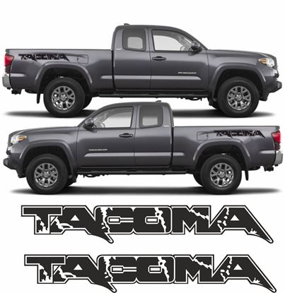 Picture of Toyota Tacoma side bed graphics / Stickers