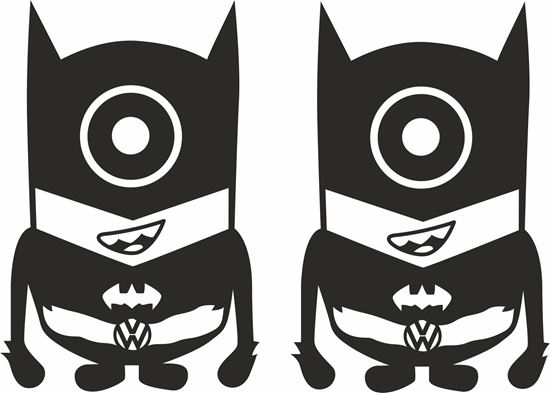 Picture of Minion VW  Batman general panel  Decals /Stickers