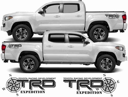 Picture of Toyota Hilux / Tacoma TRD Expedition side Decals/ Stickers