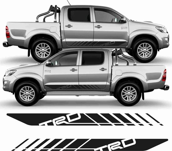Picture of Toyota Hilux TRD side graphics / Stickers