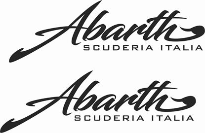 "Picture of Fiat  ""Abarth Scuderia Italia"" Decals / Stickers"