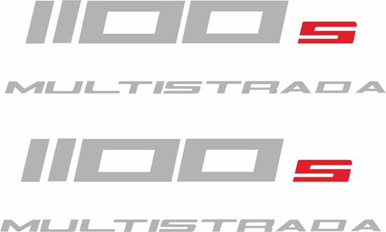Picture of Ducati 1100s Multistrada Replacement Decals / Stickers