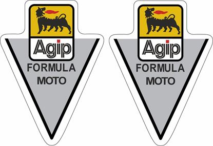 Picture of Ducati Agip Formula Moto top Fuel Tank  Decals / Stickers