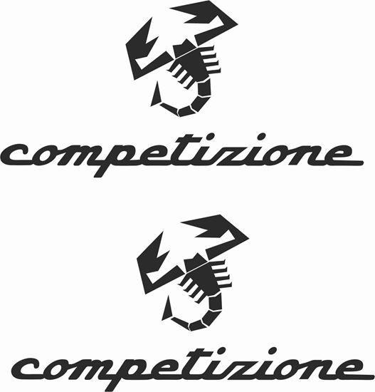 Picture of Fiat  500 / 595 Competizione Stickers / Decals