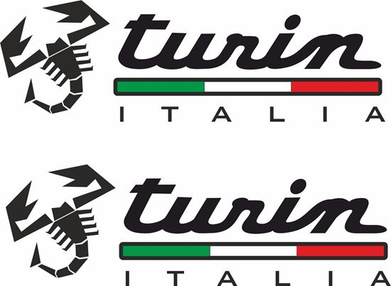 Picture of Fiat  500 / 595 / 695  Abarth Turin  Decals / Stickers