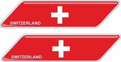 Picture of Switzerland 70mm Exterior Gel Badges