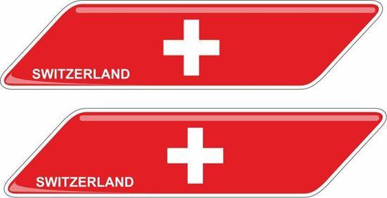 Picture of Switzerland 70mm Exterior Gel Badges