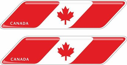 Picture of Canada 70mm Exterior Gel Badges