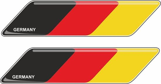 Picture of Germany 70mm Exterior Gel Badges