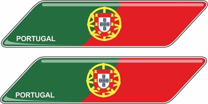 Picture of Portugal 70mm Exterior Gel Badges
