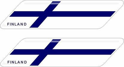 Picture of Finland 70mm Exterior Gel Badges