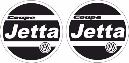 Picture of VW  MK2 Jetta Hella Light cover Decals / Stickers