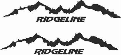 Picture of Honda Ridgeline Decals / Stickers
