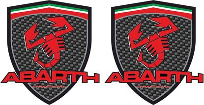 Picture of Fiat  500 / 595 / 695 Abarth Competizione Decals / Stickers